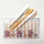 pencil clear pouch
